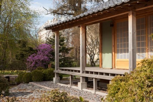 Japanese traditional house by ManicHysteriaStock