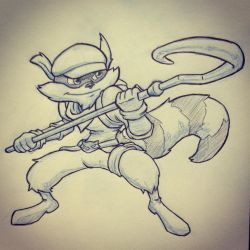 Sly Cooper by ryanhuertas