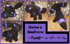 Umbreon Plushie by TheHarley