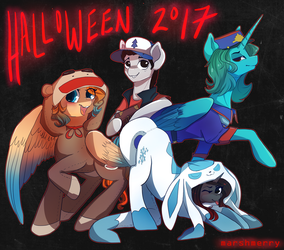 Halloween Squad by marshmerry