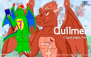 Quilmer: Crystalgon form wallpaper - TnD Project by G3Drakoheart-Arts