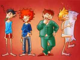 South Park - Mornings are never easy by Joxem
