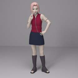 Test Render - Sakura Casual by Shinteo