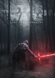 Star Wars: The Force Awakens poster by AndroniX