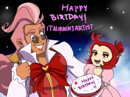 Happy Birthday ItaliaNinjArtist by maulla68