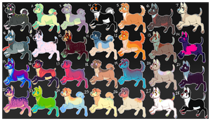 Doge Adoptables 04 [9/28 Open] by catdoq