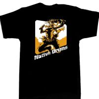 Native Drums Comic Con T-shirt by punchyninja