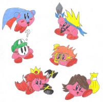 Kirby Hats: OC Marioverse by BlackCarrot1129