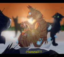 Flametail's Death (Warrior Cats) by WarriorCat3042