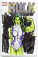 She-Hulk by Artfulcurves