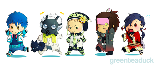 DRAMAtical Murder by greenteaduck