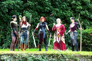 Dragon Age Cosplay Group [1] by straychild77