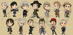 Stickers: Doctor Who by forte-girl7
