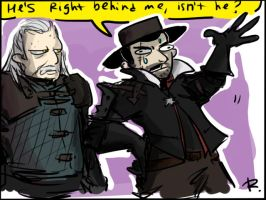 The Witcher 3, doodles 55 by Ayej