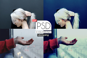 PSD Coloring 016 by vesaspring