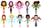 Chibi StregaFata Project Basic Forms in Pixels by PurpleAmharicCoffee