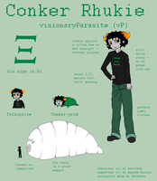 Reference Sheet: Conker Rhukie by Aettchen