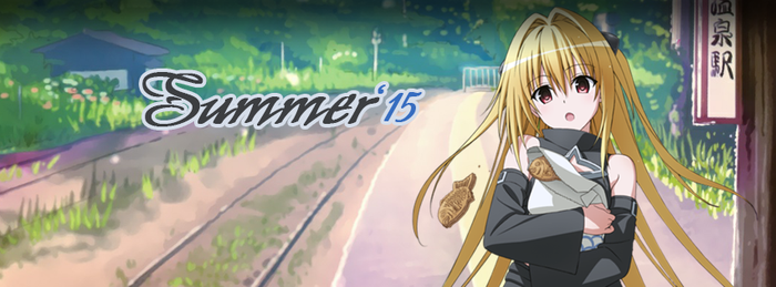 Summer Anime Season 2015 FBC by ware4me