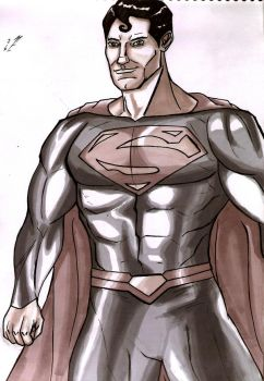 Daily DCU Day 292: Superman by Marcus-Pechan