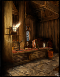 Dragon Age Inquisition - Haven's Tavern by Chocolate-Pyrus