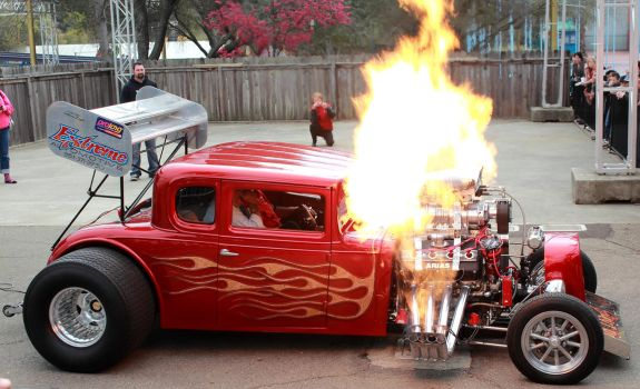 Fire Breathing Chevy by DrivenByChaos