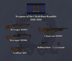 The Weapons of Chedrihan - 5th Chedrihan War by Tyranio