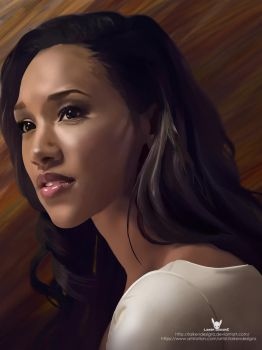 The Flash - Iris West by LaikenDesignz