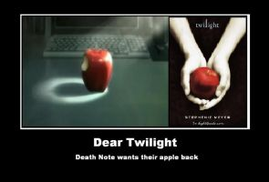 Death Note's apple by Krisa-is-awsom-otaku
