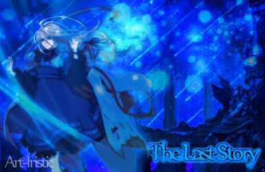 Calista under a blue night by Art-Iristic