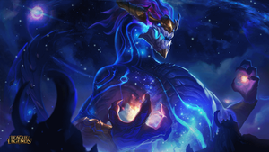 Aurelion Sol Splash Art Animation by Pinipy