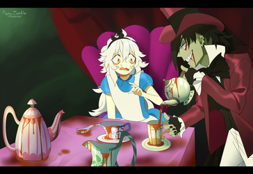 Tea Party by Pyro-Zombie
