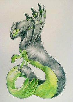 Zygarde by Endivinity