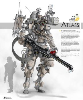 ATLASS by NOMANSNODEAD