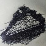Inktober day 25 Ship by Faietiya