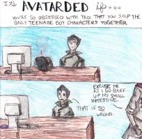 Avatarded: Brotherly love by TheOneWhoLovesToEat