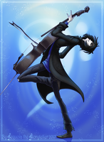 Awesomest Cello-Pose Ever in Existence by SekoiyaStoryteller