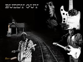 Buddy Guy by chilorastaroots