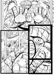 Fantastic Four Sequential  Sample artwork page 1 by brianrobinson