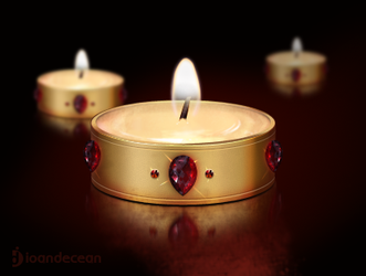 candle icon - free psd by nelutuinfo