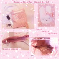 Bunny Bag for Good Girls by BlueDove415