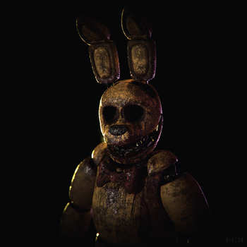 Stuffed SpringBonnie | PBR Materials by NiksonYT