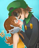 Daisy x Luigi 2 (Mr.L) by CalibreJun