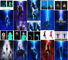 Teleport Photoshop Action by GraphicAssets