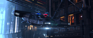 Police Hover by MyraAlex