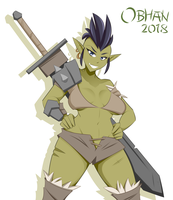 Dhukari Blade Dancer (Asla) by Obhan