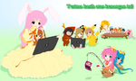 Haya Cosplay Picnic - Unshaded by C-quel