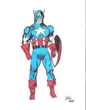 Captain America by xMAGiiC