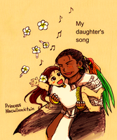 My daughter has flower and song by nosuku-k