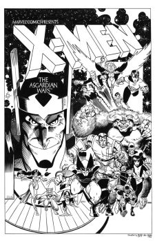 X-Men: The Asgardian Wars TPB Cover Recreation by dalgoda7