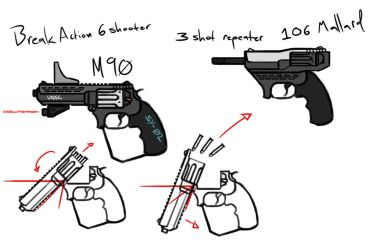 Revolvers by dropL05